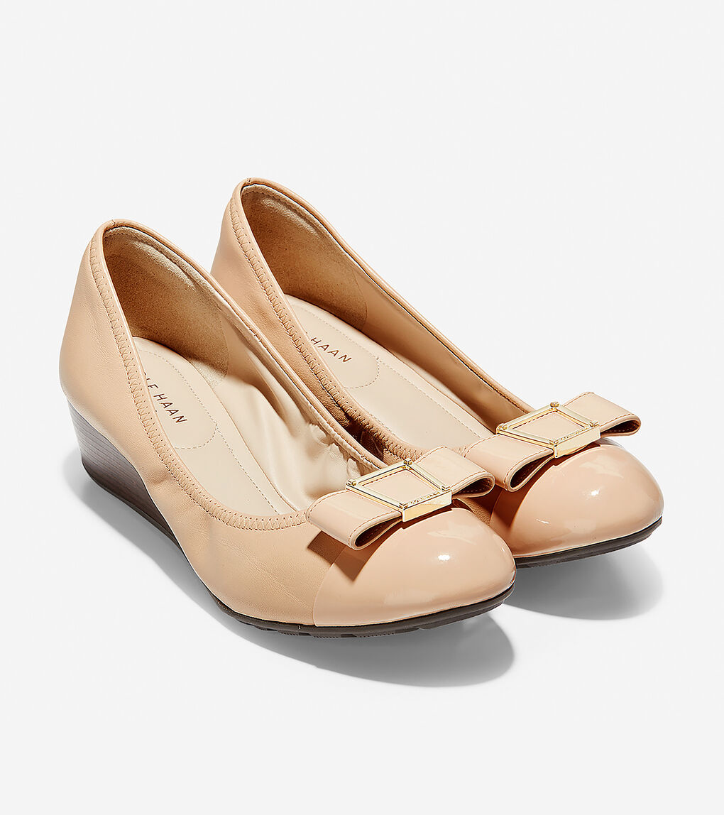 Womens Emory Bow Wedge (40mm)
