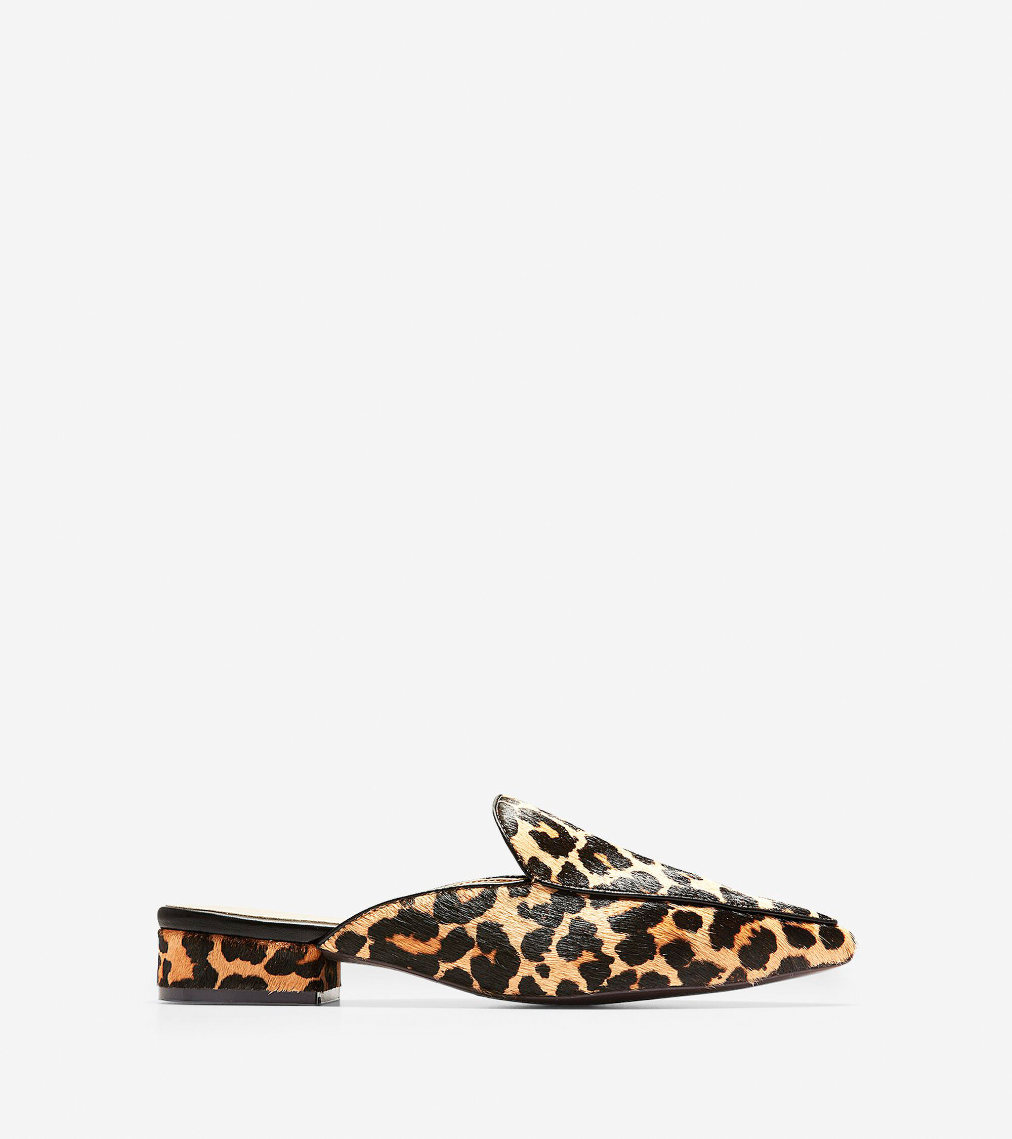 6bf2c42588c Women s Piper Mules in Ocelot Haircalf