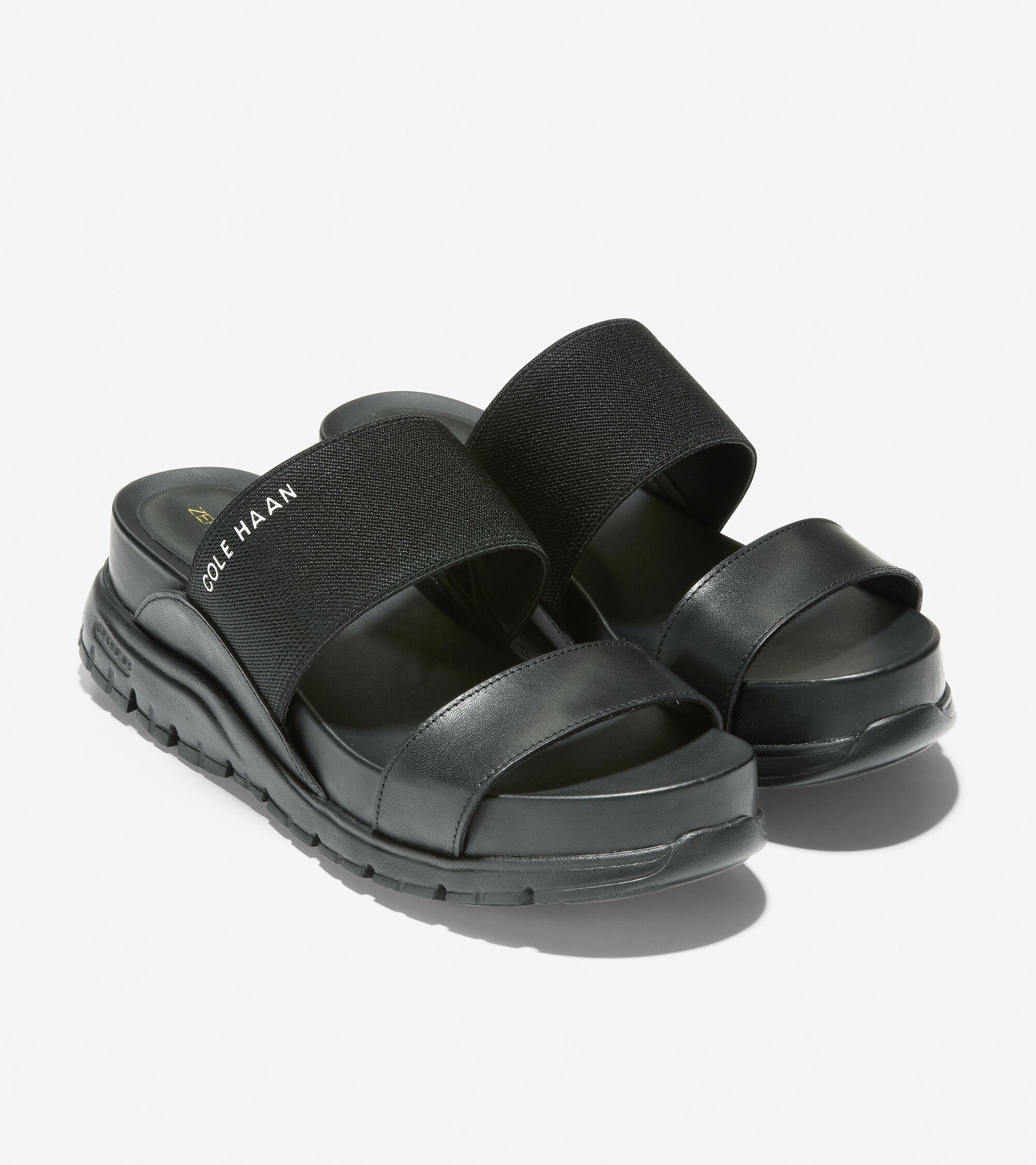 Double Band Slide Sandal