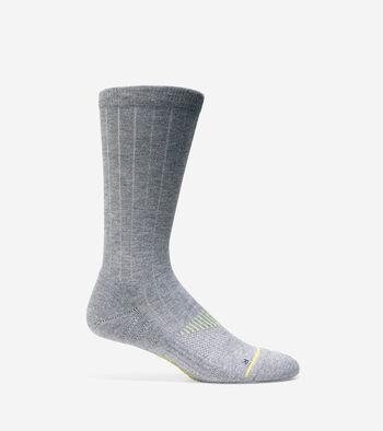 ZERØGRAND Rib Crew Socks