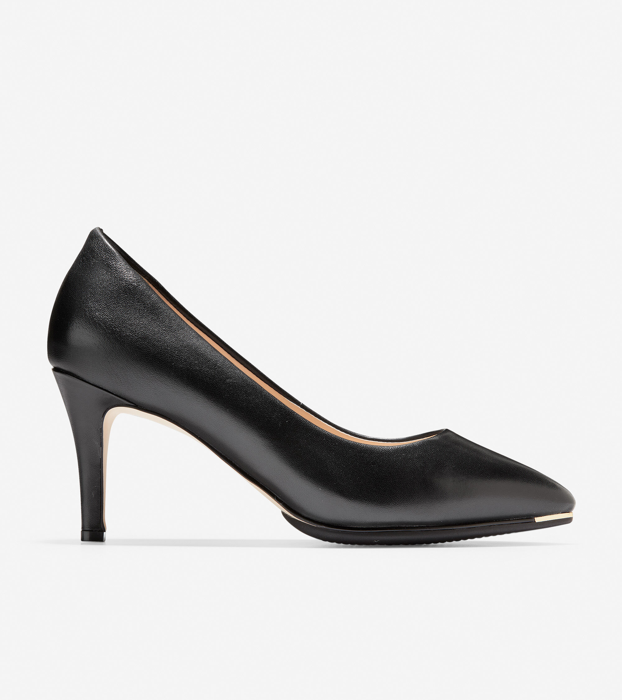 Cole Haan Women's Grand Ambition Leather Pumps In Black