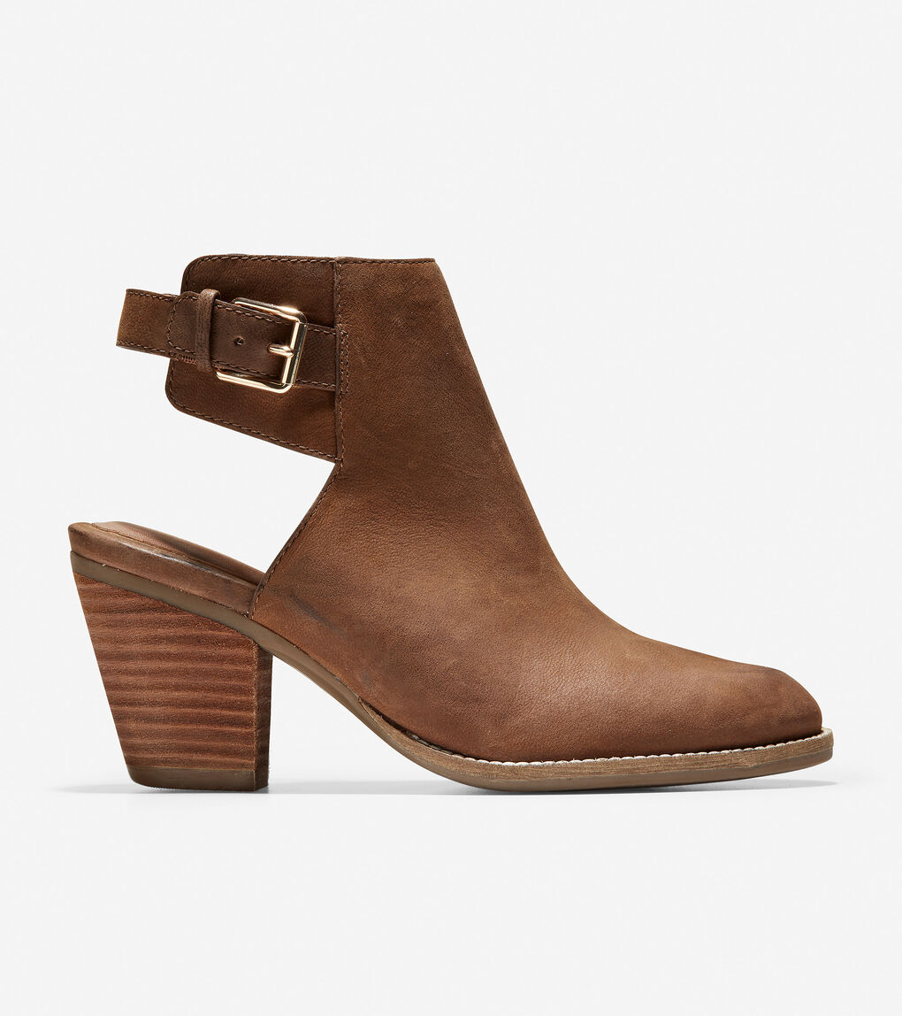 WOMENS Pippa Block Heel Bootie