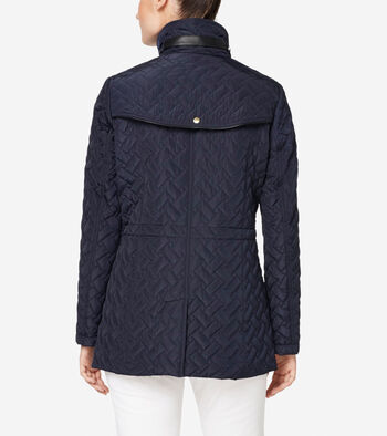 Signature Quilted Short Jacket