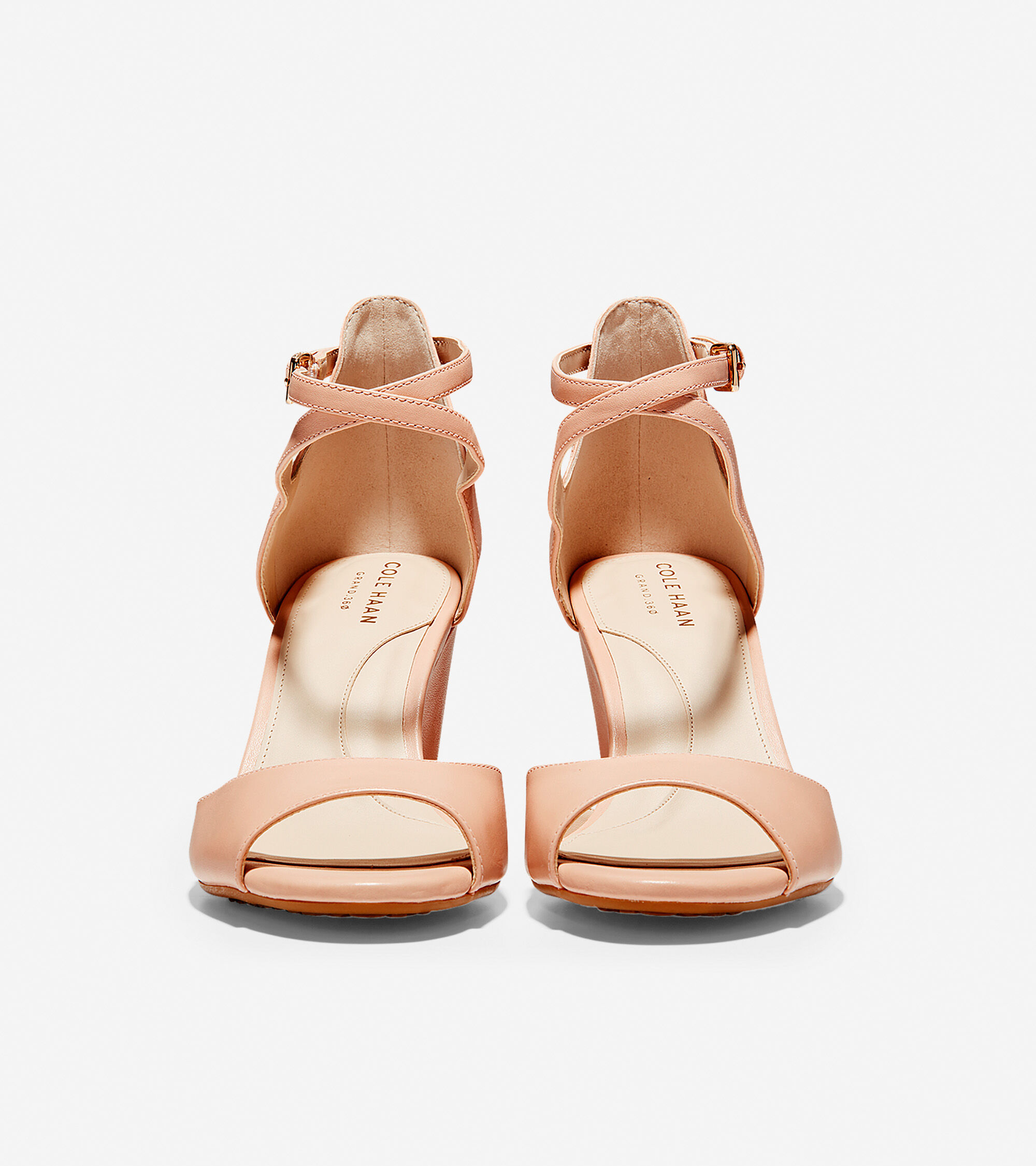 3fe9a12b9d6 Women s Sadie Open Toe Wedge Sandals 75MM in Mahogany Rose