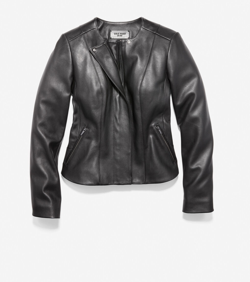 WOMENS Butter Lamb Leather Jacket