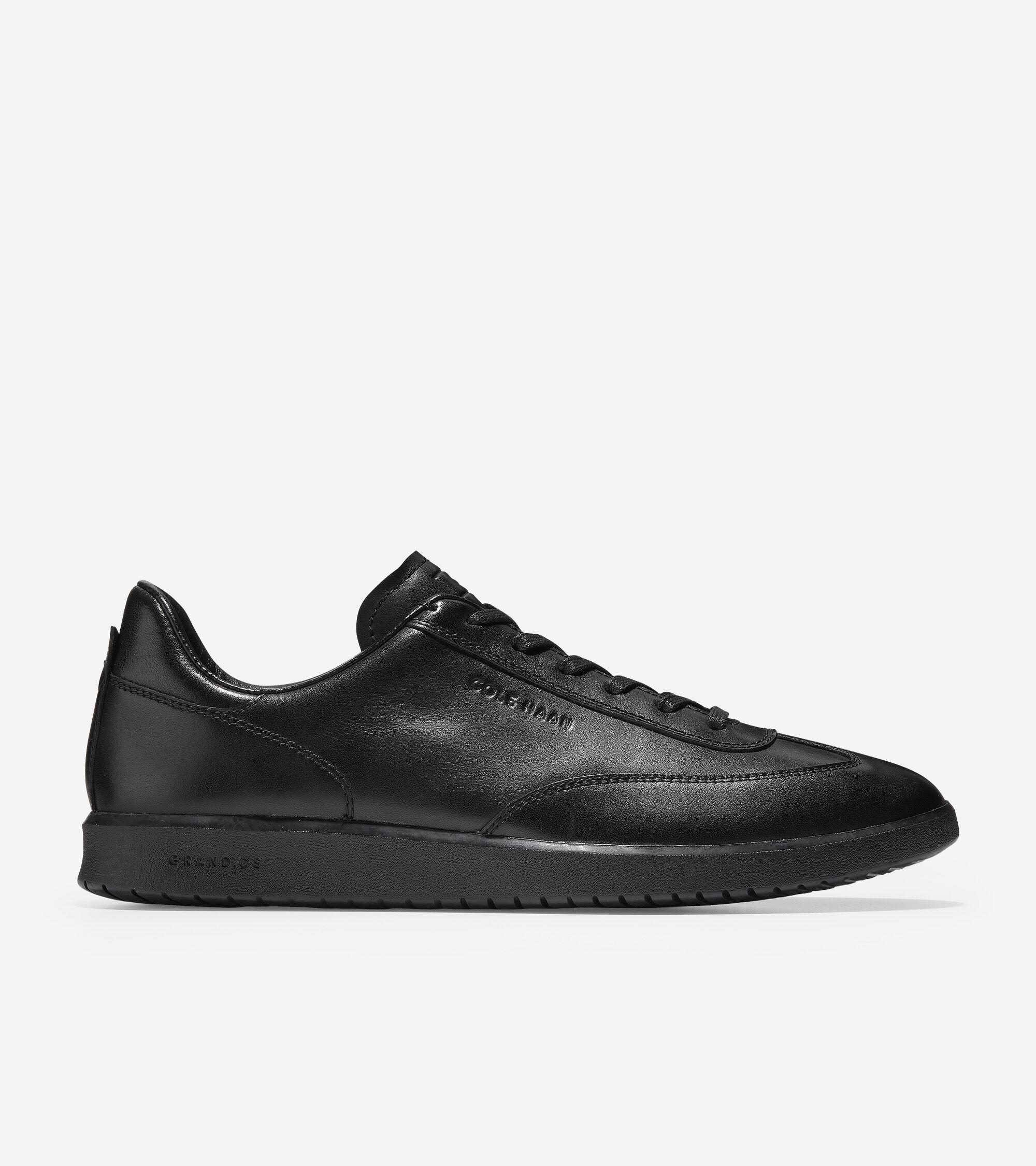 Turf Sneaker in Black - Black | Cole Haan