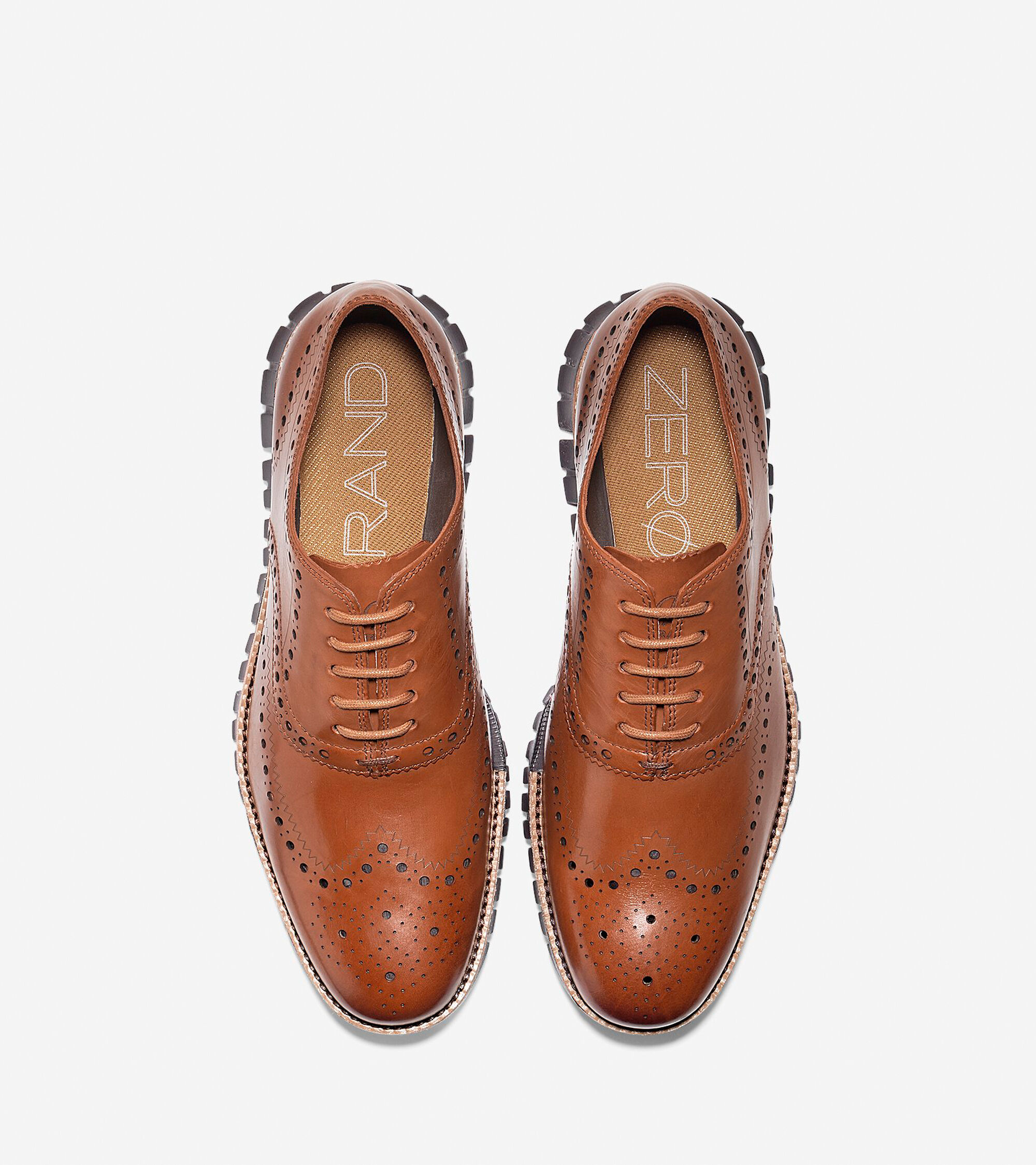 Zerogrand Wingtip Oxfords In British Tan Java Cole Haan D Island Shoes Slip On Comfort Leather Dark Brown Mens Zergrand Oxford