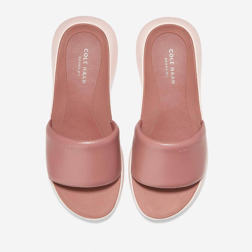 Womens Ella Grand Banded Slide Sandal