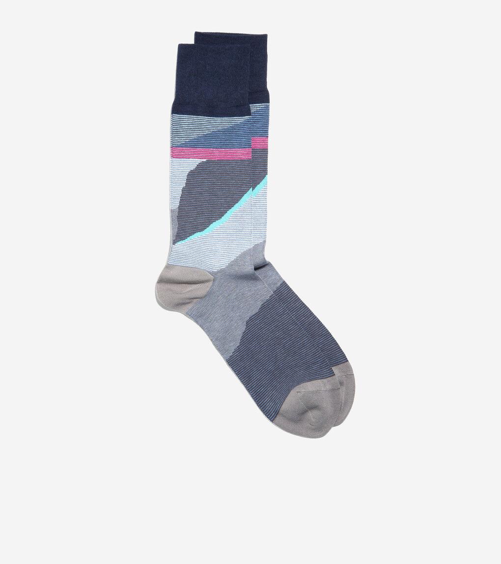 MENS Desert Landscape Crew Socks