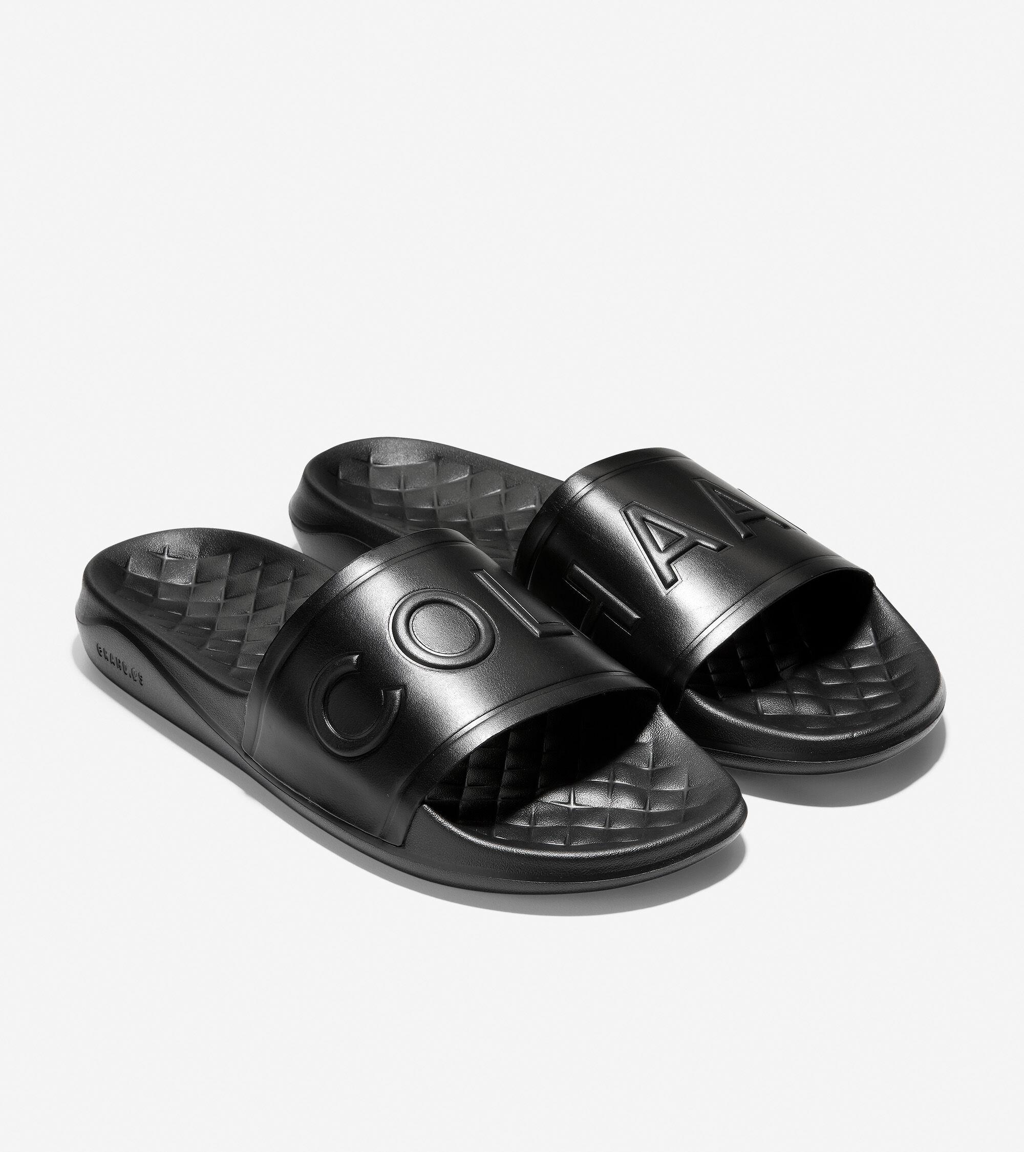 Slide Sandal in Black | Cole Haan