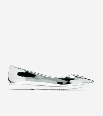 Women's ZERØGRAND Bow Skimmer Flat