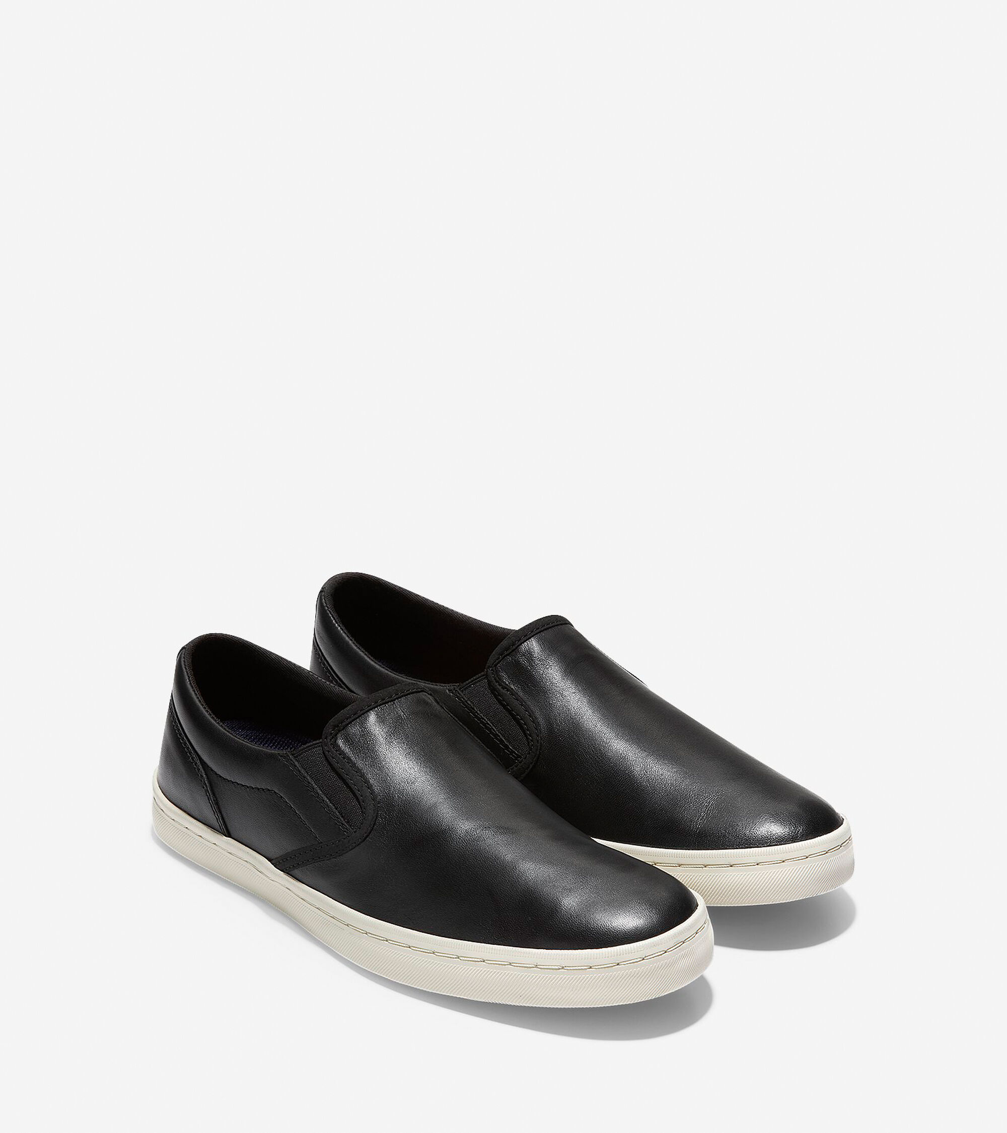 Men s Nantucket Deck Slip-On Sneakers in Black  45cf86e5b5a1