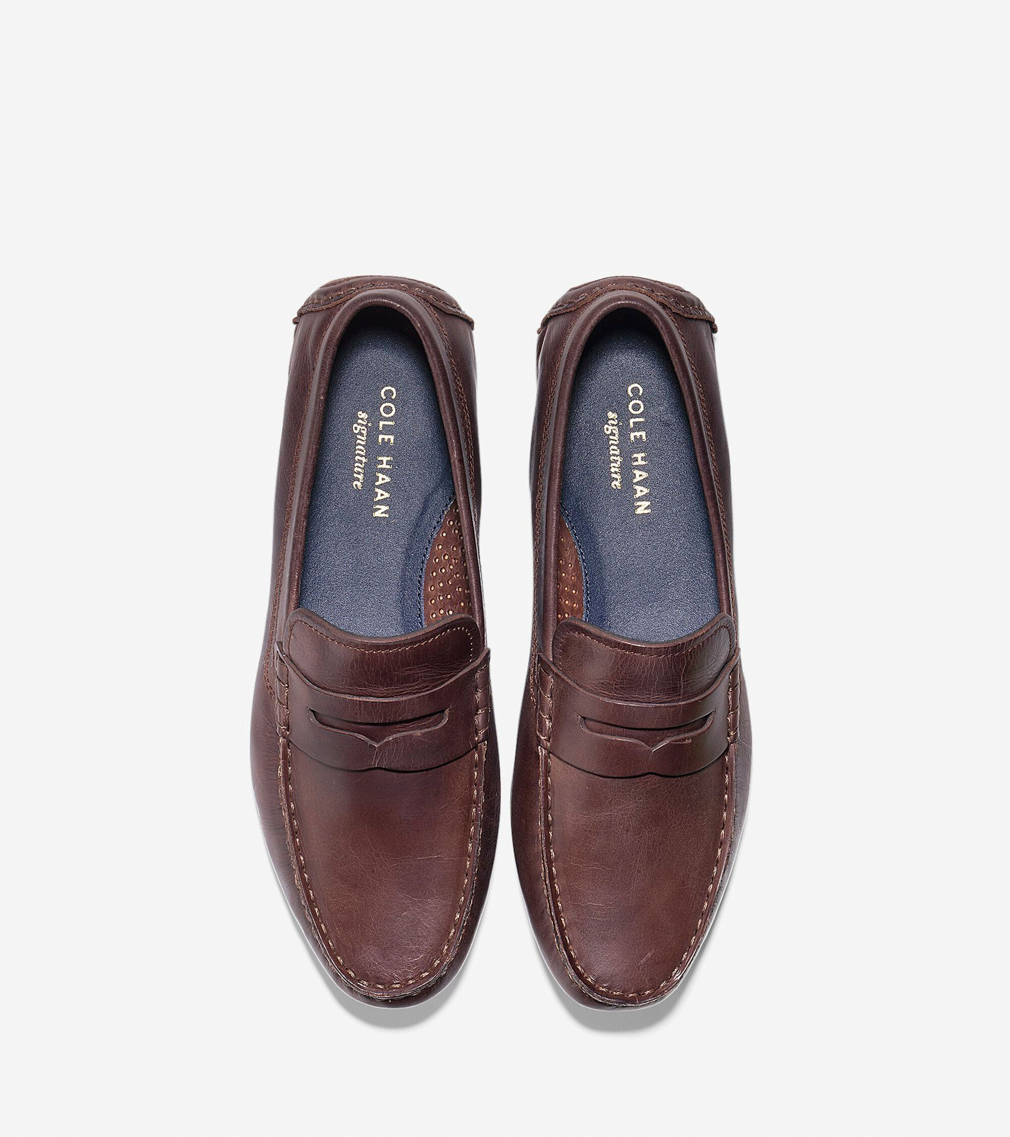 5eb7281ea6e Kelson Penny Loafers in British Tan   Mens Shoes