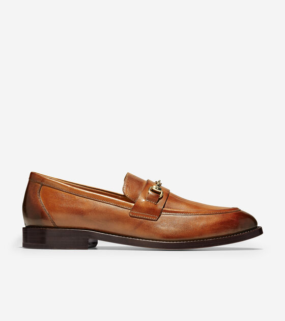 Loafers & Driving Shoes > Cole Haan American Classic Kneeland Bit Loafer