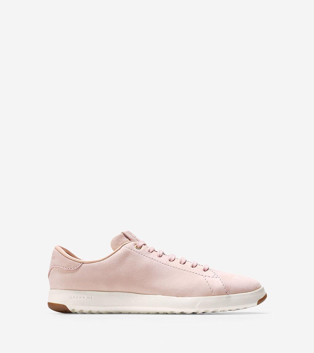 5ffa61cb07b9 Women's GrandPrø Tennis Sneaker in Seashell Nubuck | Cole Haan US