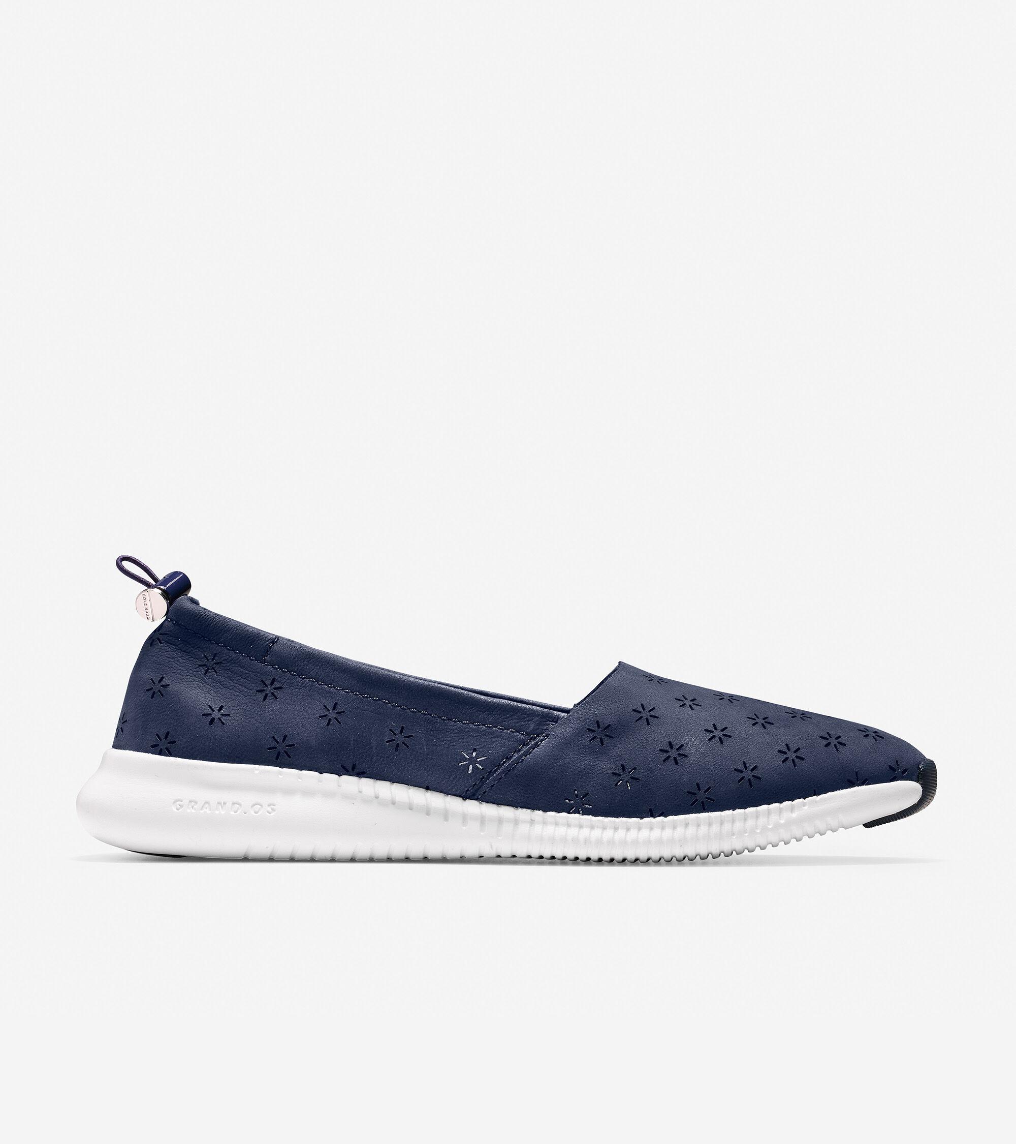 Cole Haan Women's StudioGrand Perforated Slip On Sneaker