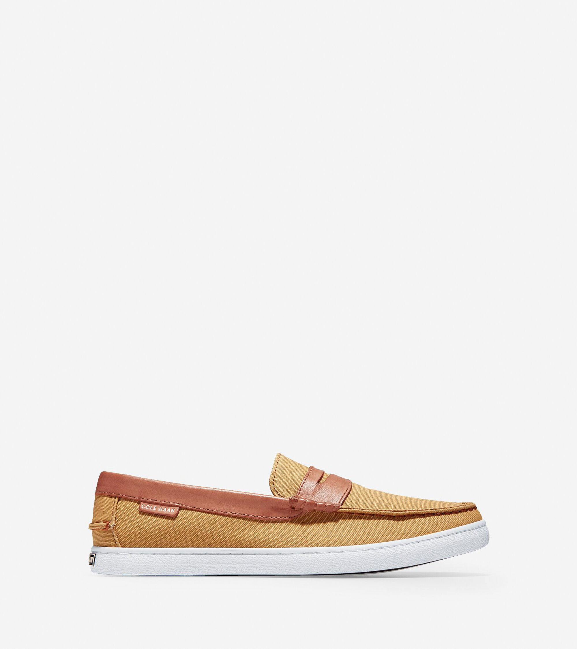 9e8d283e545 Men s Nantucket Loafers in Iced Coffee Canvas