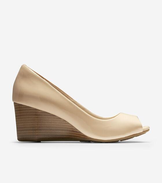 Heels & Wedges > Sadie Open Toe Wedge (65mm)