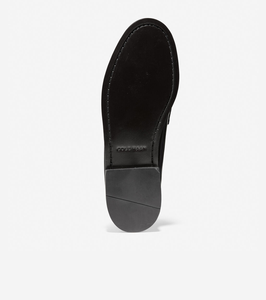 Mens Pinch Tassel Loafer