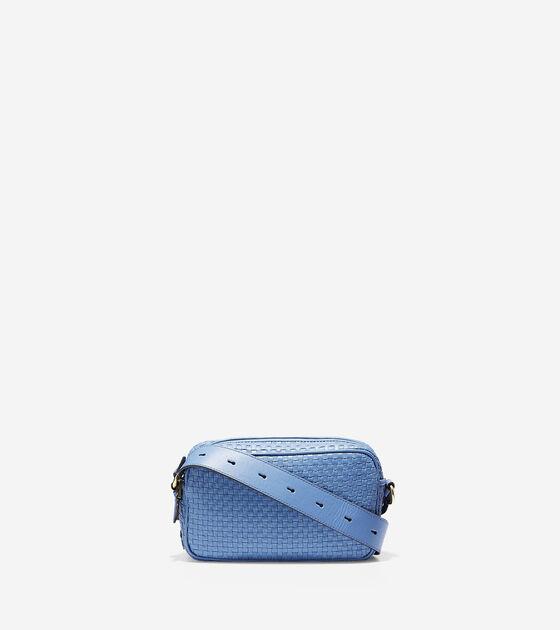 Handbags Zoe Woven Camera Bag