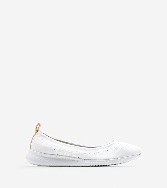 Shoes > Women's 2.ZERØGRAND Ballet Flat with Stitchlite™