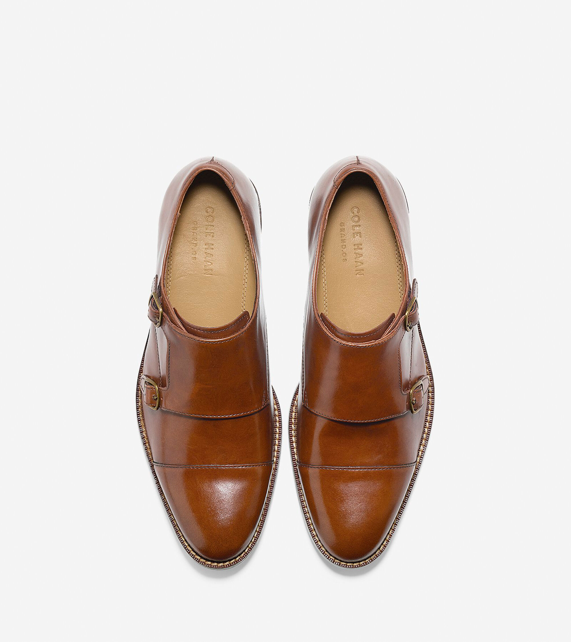 4909f65f48976 Cole Haan Madison Double Monk Oxford in British Tan   ColeHaan.com