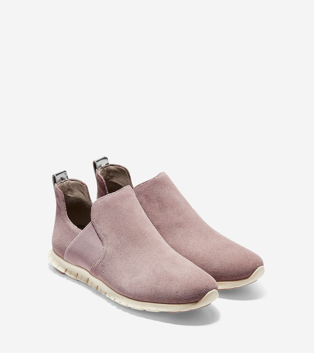 Womens ZERØGRAND Slip-On Bootie
