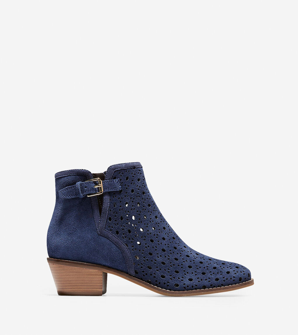 Womens Willette Perforated Bootie (45mm)
