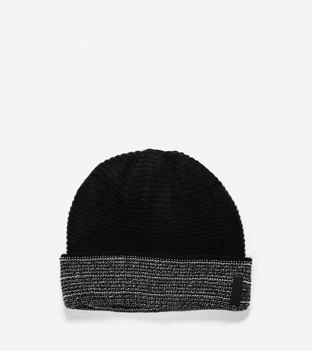 Mens Grand.ØS Reflective Marled 4-Way Hat