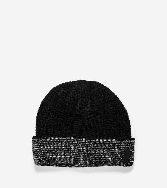 Hats, Gloves & Scarves > Grand.ØS Reflective Marled 4-Way Hat