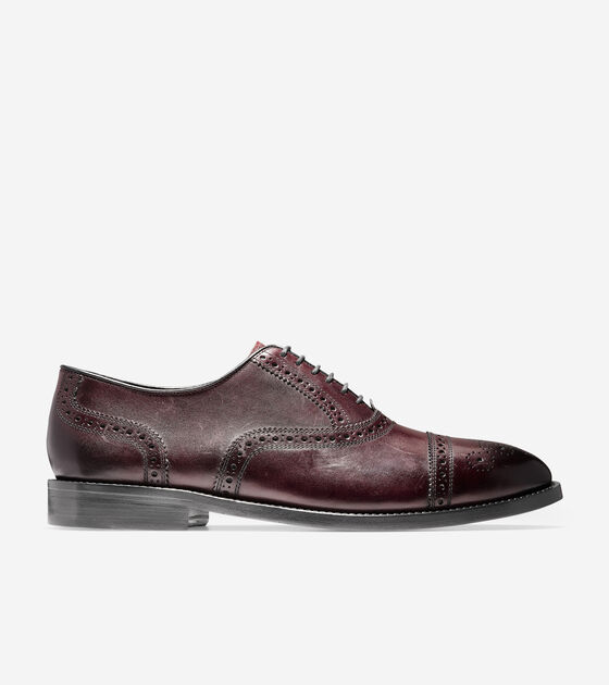 Oxfords > Cole Haan American Classic Kneeland Brogue Cap Toe Oxford