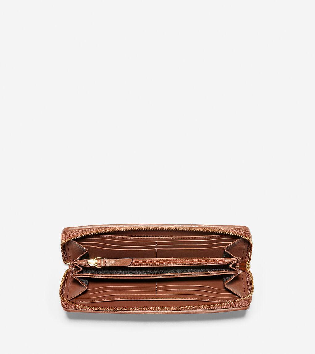 Womens Genevieve Continental Wallet