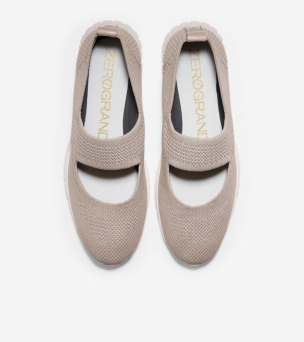 Womens ZERØGRAND Mary Jane Loafer