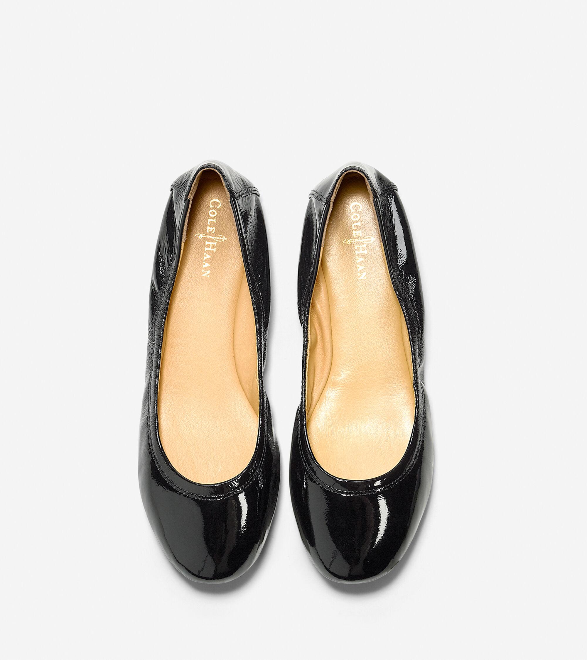 8a27e31bb2a Womens Manhattan Ballet Flats in Black Patent