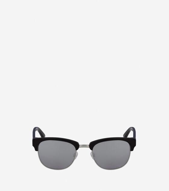 Sunglasses > Acetate Metal Square Sunglasses