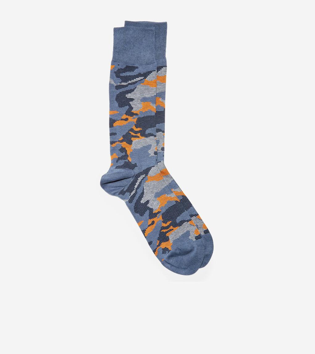 MENS Modern Camo Crew Socks