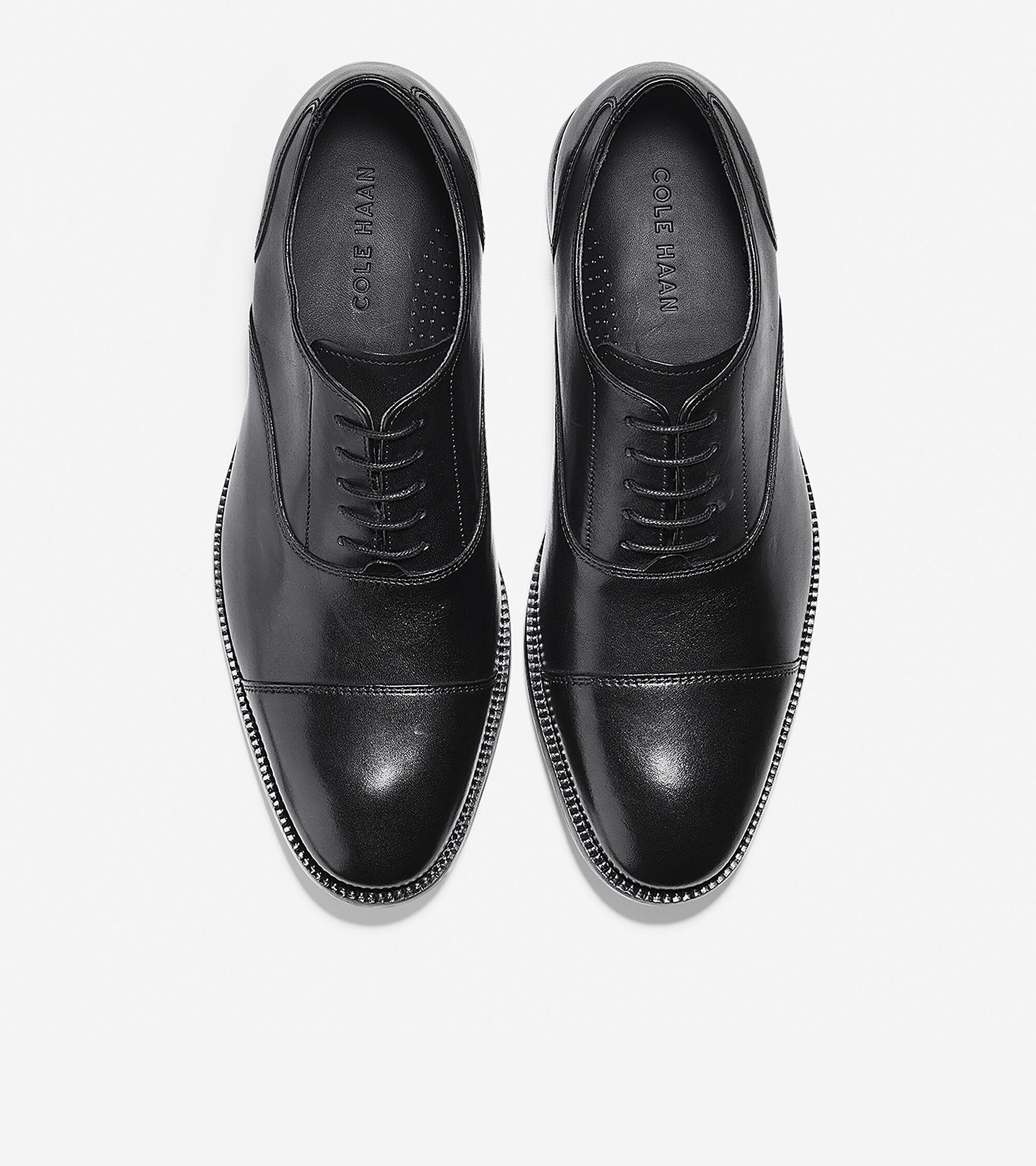 Men's Williams Cap Toe Oxford in Black