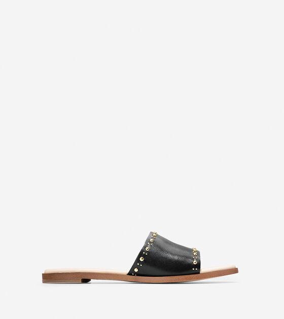 Shoes > Anica Stud Slide Sandal