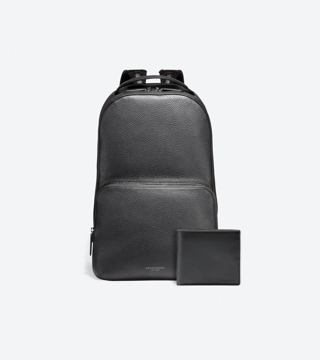 Father's Day Gift - Buy A Leather Backpack + Wallet for $249 USD valued at $400
