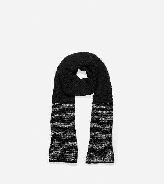 Bags & Outerwear > Grand.ØS Reflective Marled Muffler Scarf