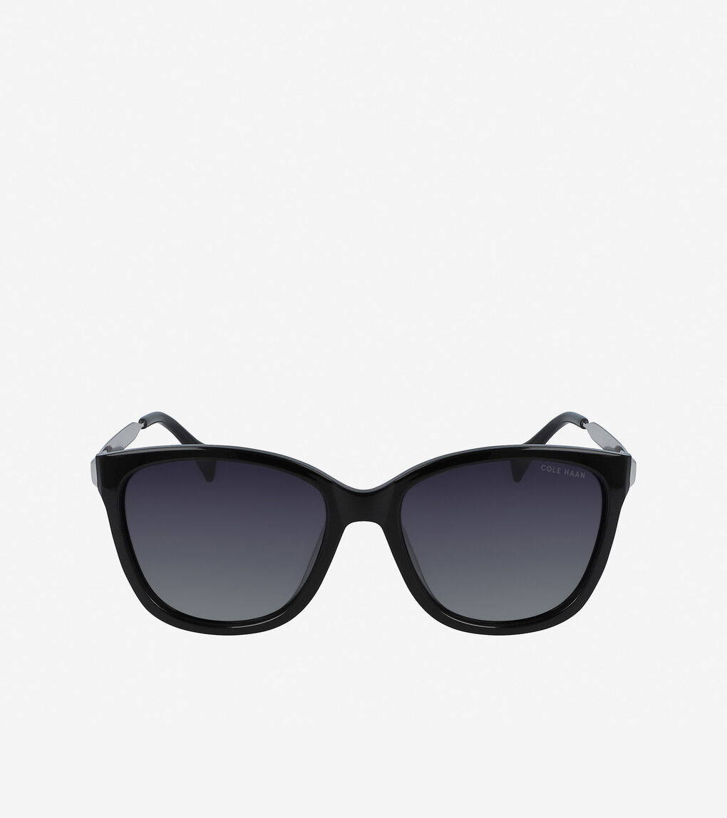 Womens Classic Square Sunglasses