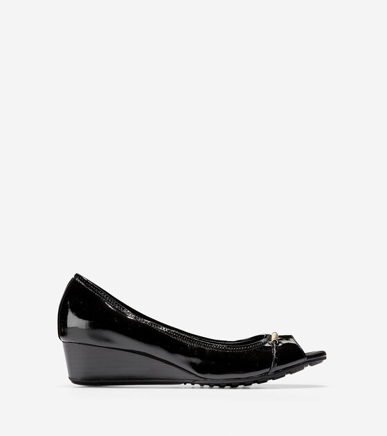 Shoes > Emory Braided Open Toe Wedge (40mm)