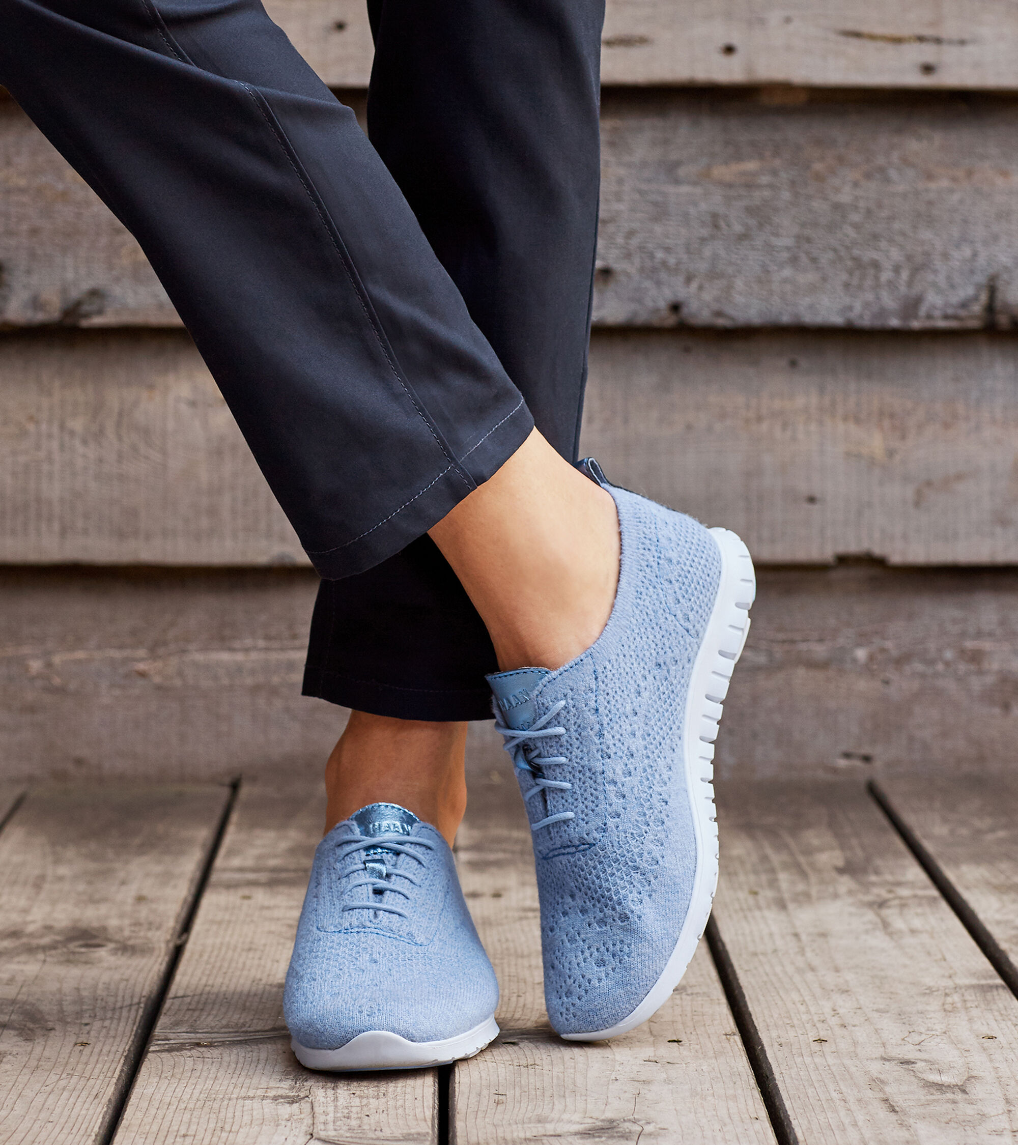 1f4a4cc167 Women's ZEROGRAND Oxfords with Stitchlite™ Wool in Chambray   Cole Haan