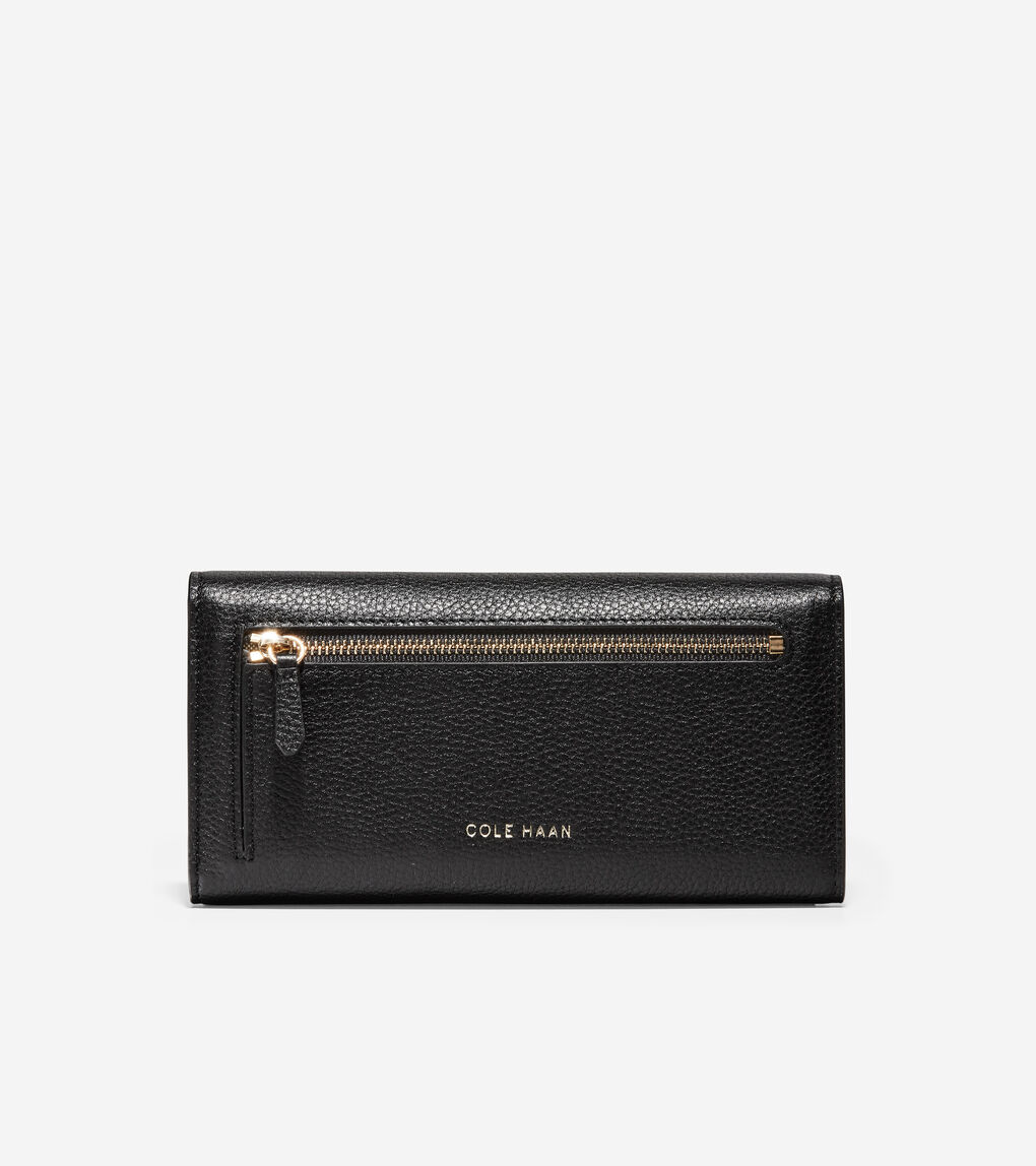 WOMENS GRANDSERIES Flap Continental Wallet