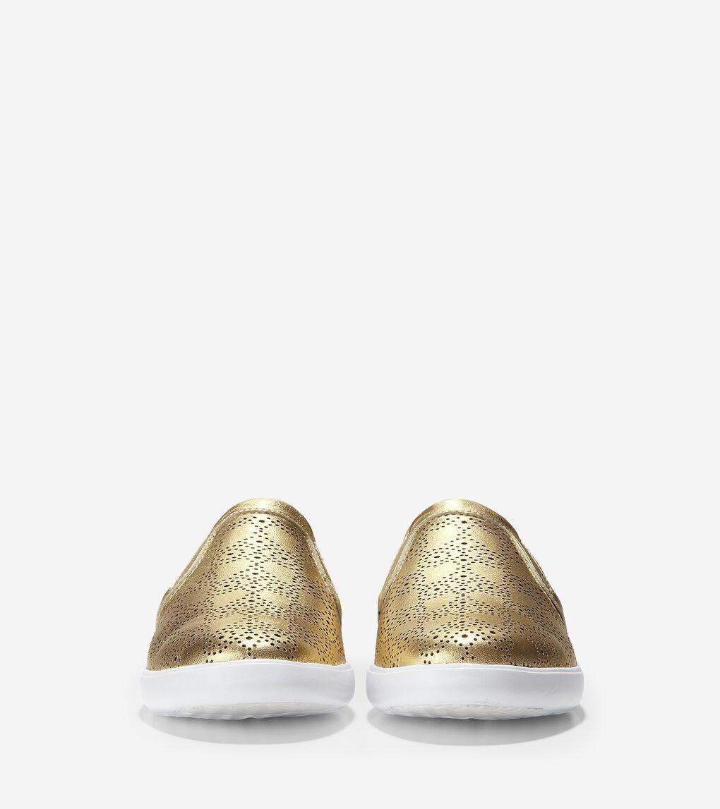 Womens Grand Crosscourt Slip On Sneaker