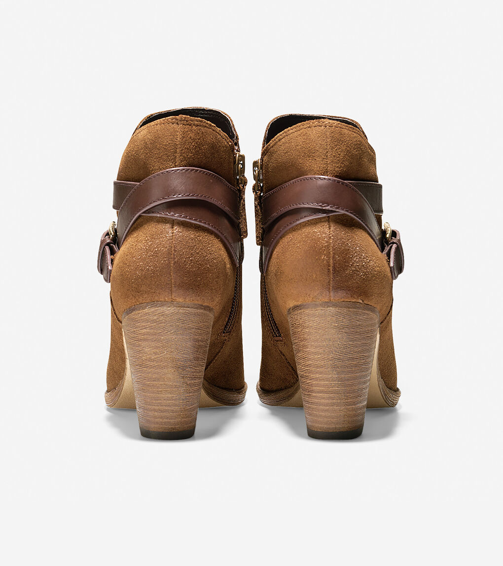 Womens Hayes Strap Bootie (75mm)