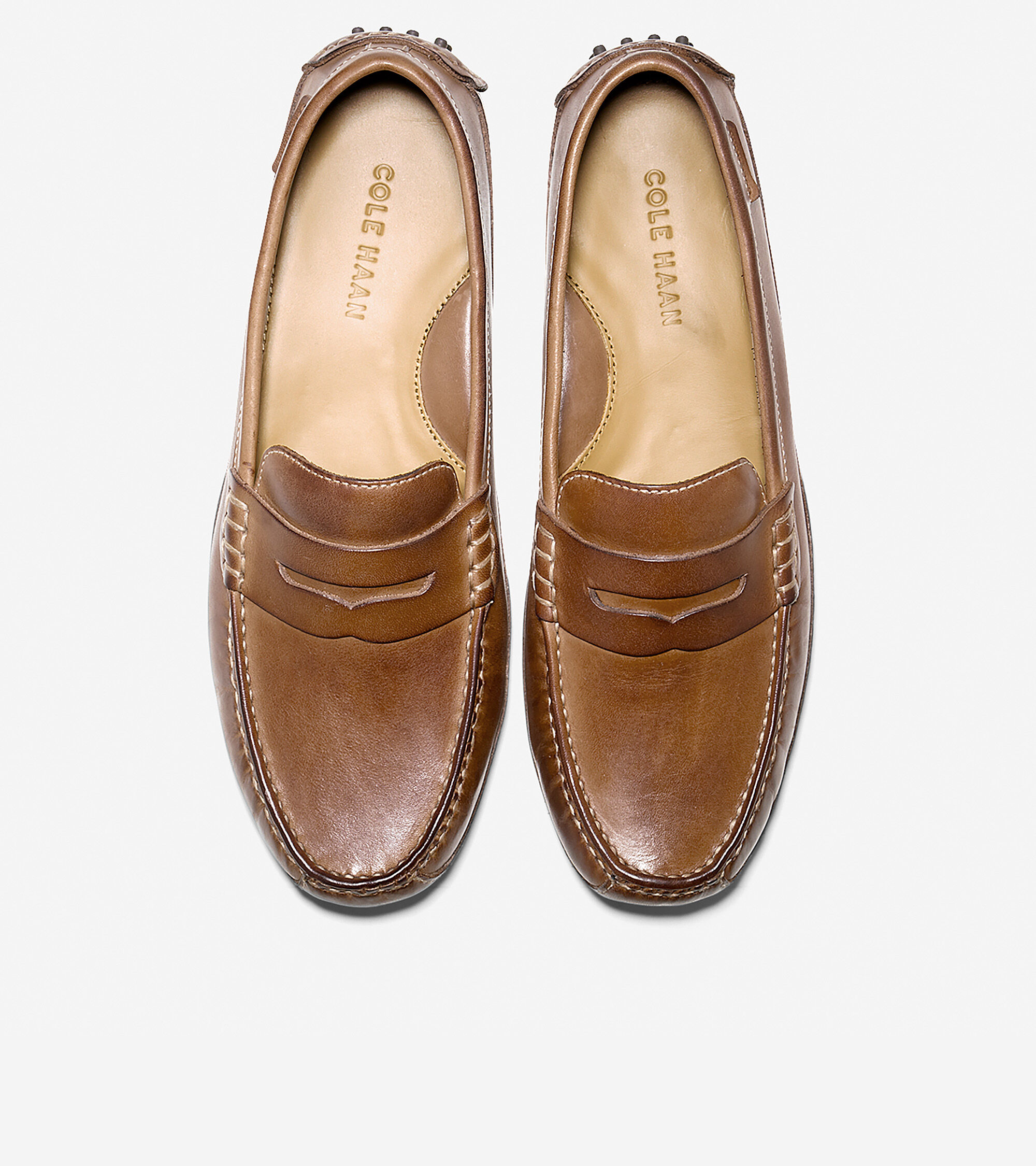 Cole Haan Mens Grant Canoe Penny Driving Drivers Slip-On Loafers Dress Shoes
