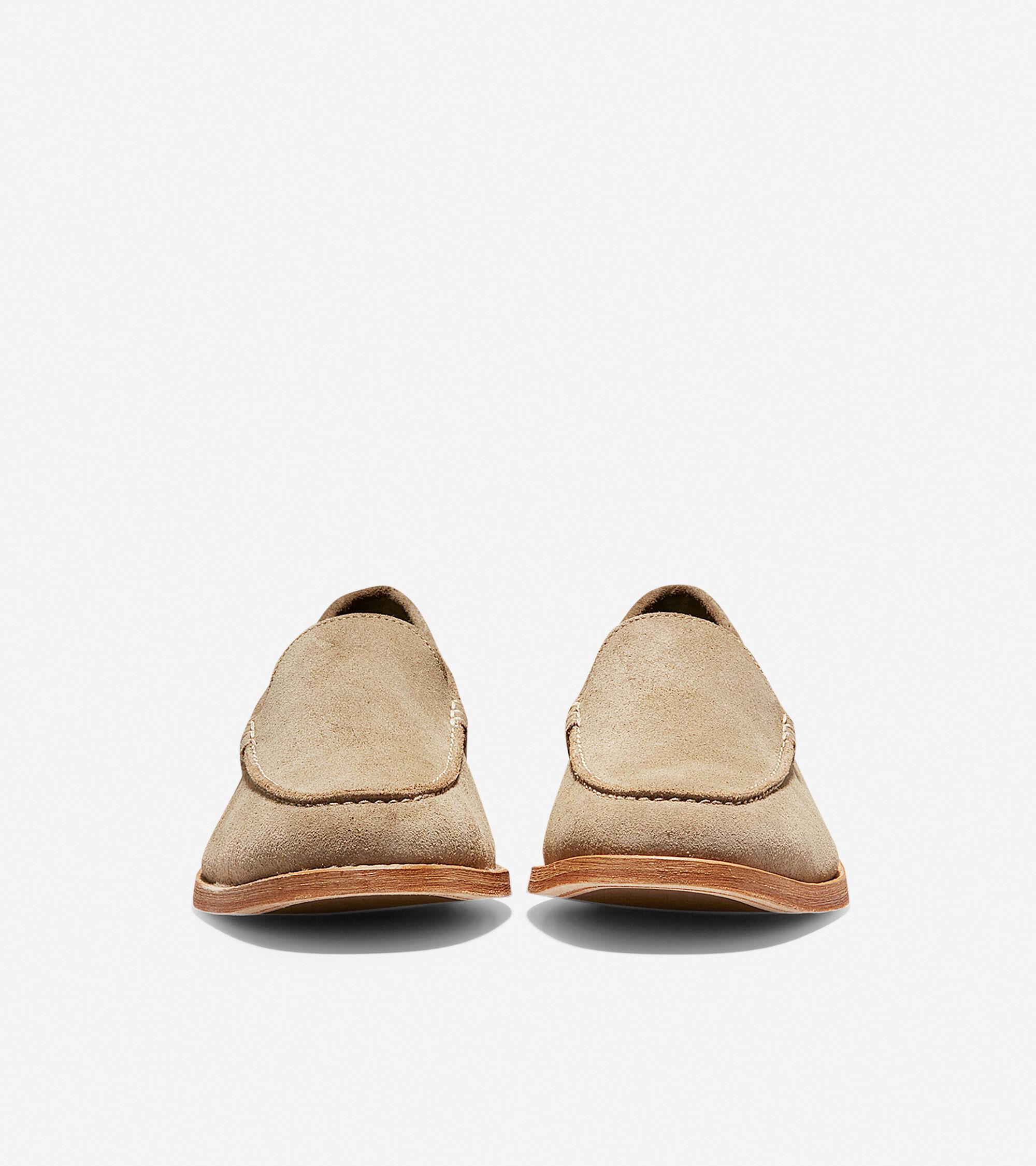 87d0cdd6731 Men s Feathercraft Grand Venetian Loafers in Desert Beige