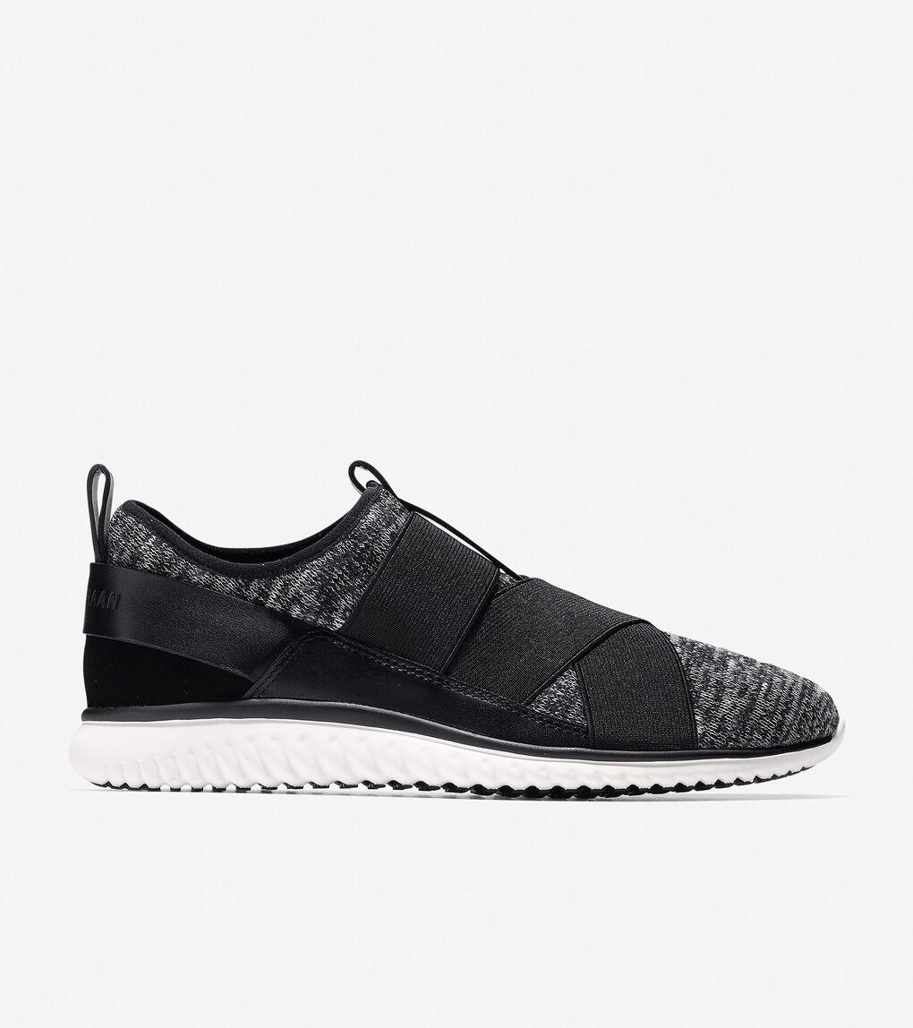 Womens StudiøGrand Cross-Strap Sneaker