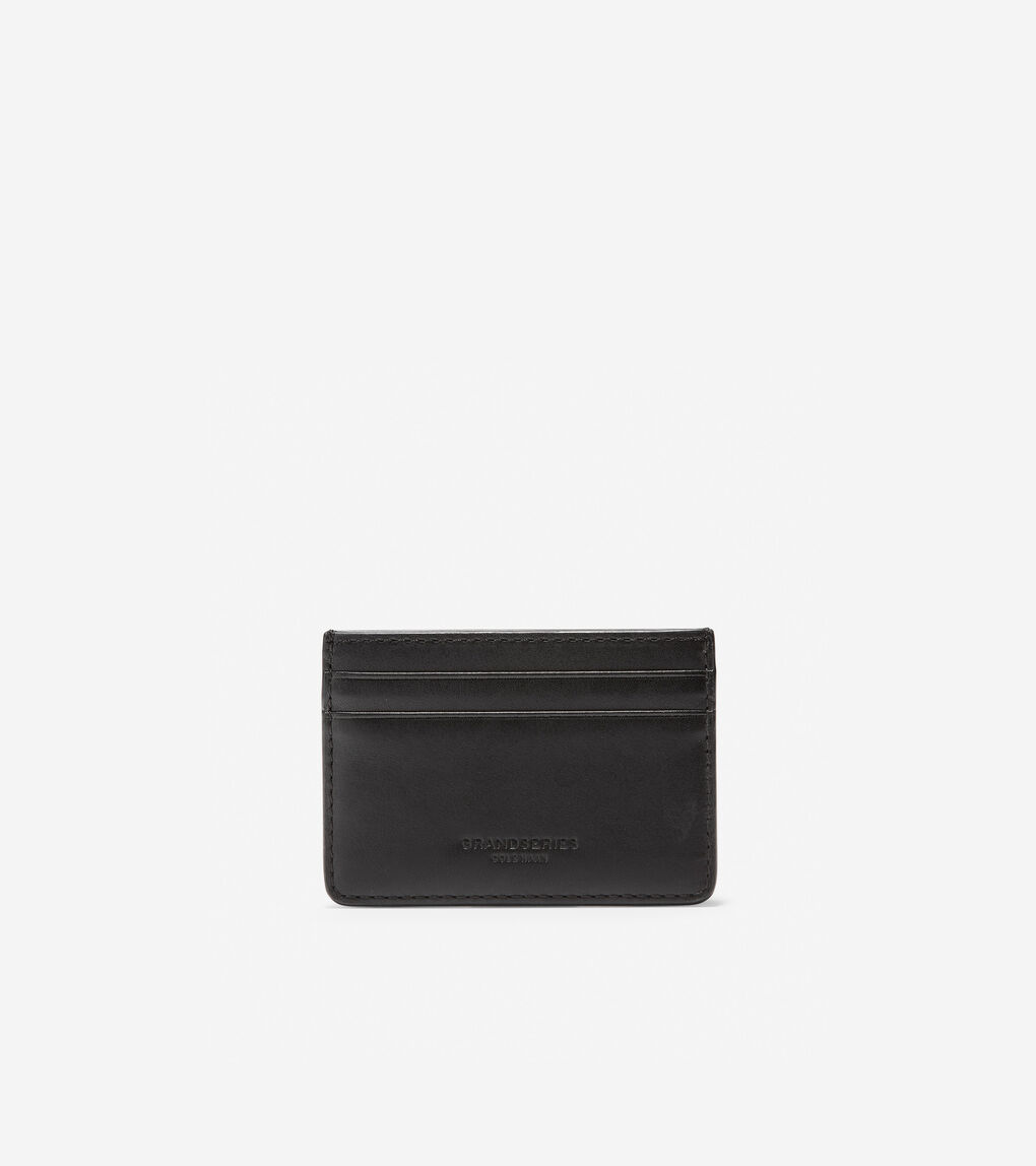 Mens GRANDSERIES Leather Card Case